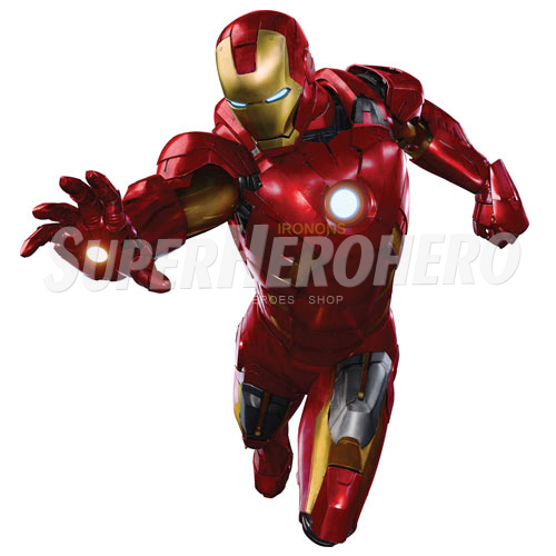 Designs Iron Man Iron on Transfers (Wall & Car Stickers) No.4589